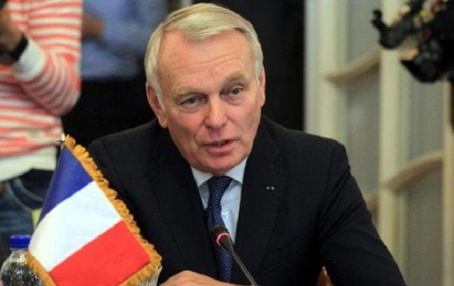 Фото: глава МЗС Франції Жан-Марк Еро