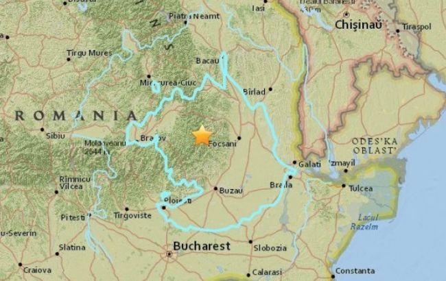 У Румунії стався землетрус, відгомони в 3-4 бали відчули в Україні