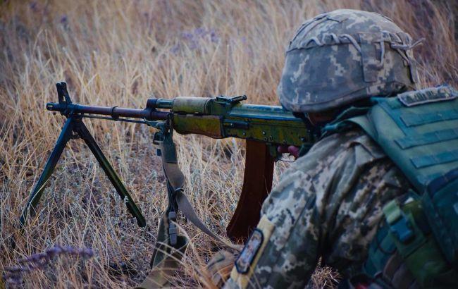 Боевики на Рождество пять раз обстреливали военных на Донбассе