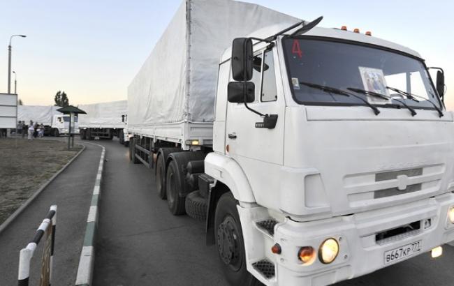 Тільки 5% російських гумконвоїв везли на Донбас продовольчу допомогу, - МВС
