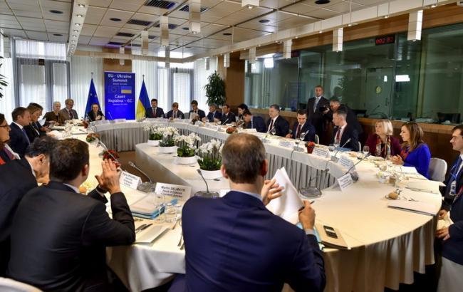 Фото: саммит Украина-ЕС