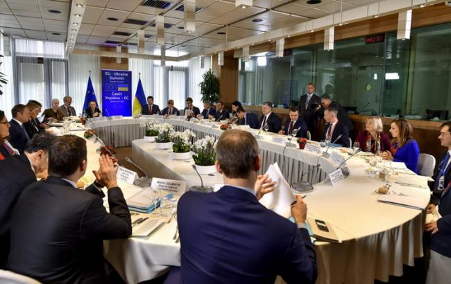 Фото: саміт Україна-ЄС
