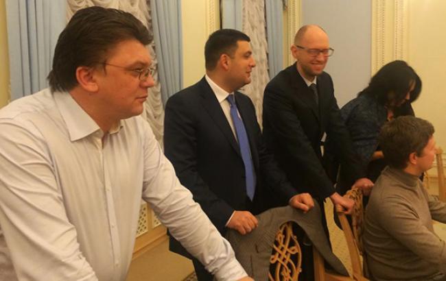 На основі коаліційної угоди буде підготовлена програма діяльності Кабміну, - Яценюк