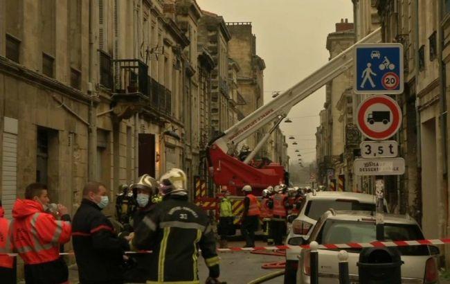 Вибух в Бордо: обвалився житловий будинок, є загроза і для інших