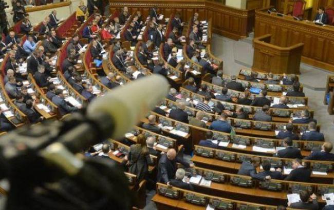 Рада прийняла за основу президентський законопроект щодо судової реформи