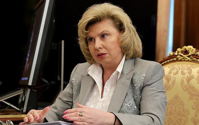 Москалькова заявила, що Денісова не зможе без неї відвідати Сенцова в РФ