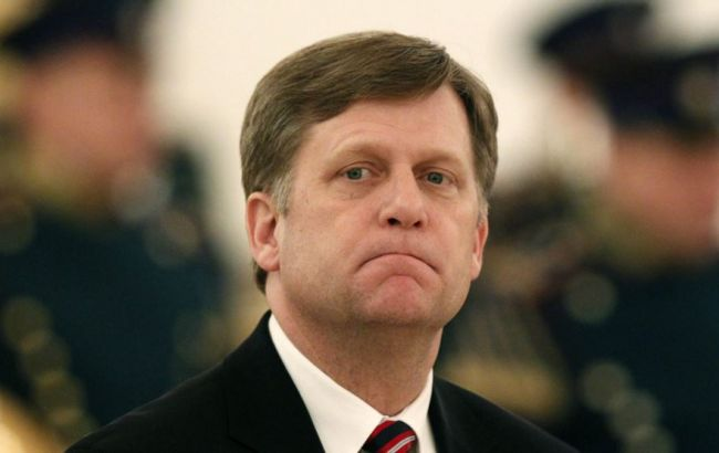 РФ внесла в санкційний список екс-посла США Макфола