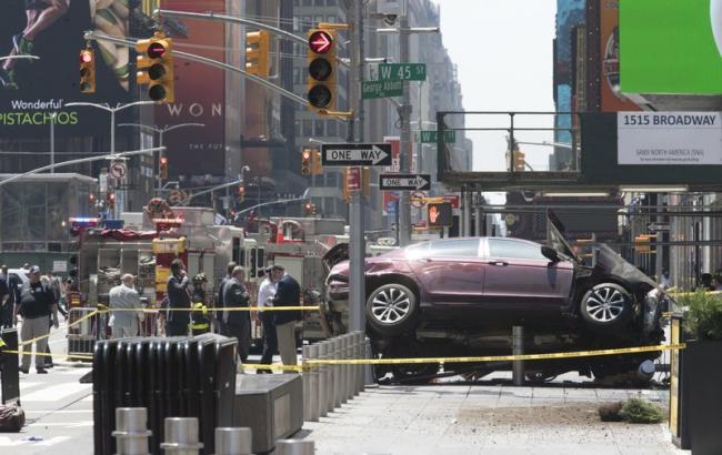 Нетеракт: поліція прокоментувала ДТП вцентрі Нью-Йорка