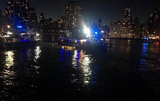 Аварія вертольота в Нью-Йорку: мінімум 2 людини загинуло