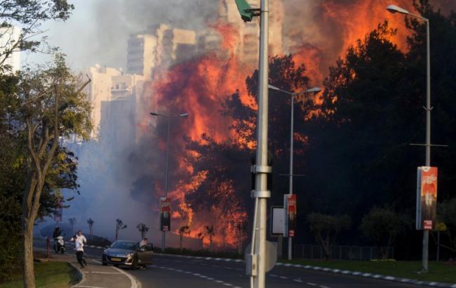 Фото: в Израиле продолжается волна пожаров