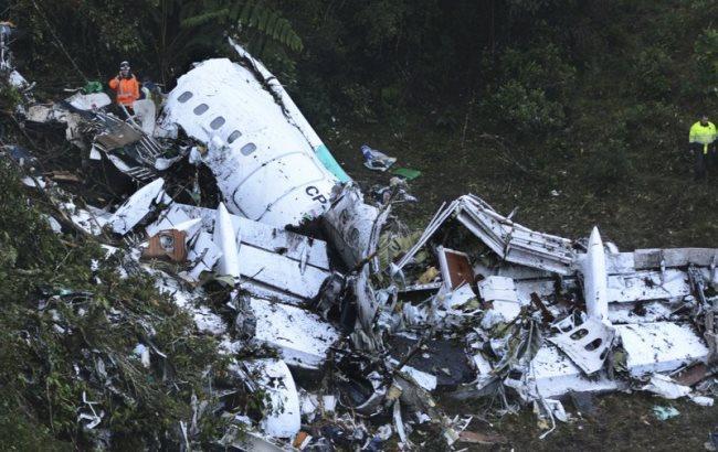 Смерть футболистов вавиакатастрофе: выложена запись последних слов пилота