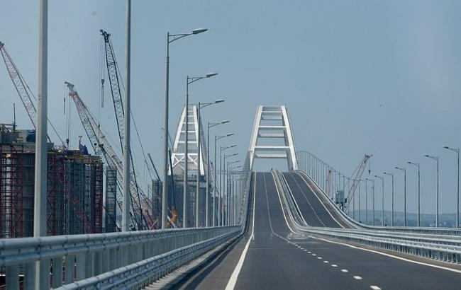 Євросоюз ввів санкції проти компаній РФ за будівництво Кримського моста