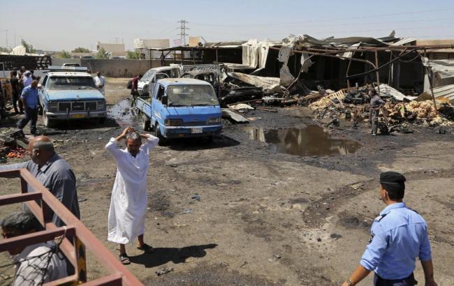Фото: в Багдаде растет количество жертв теракта