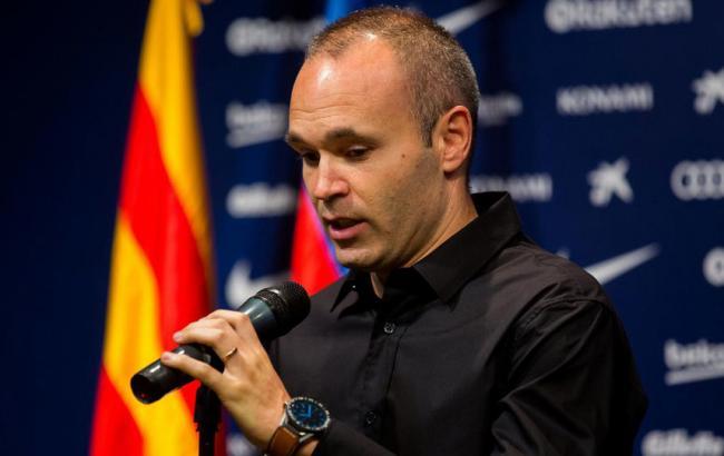 Иньеста уйдет из«Барселоны» вконце сезона