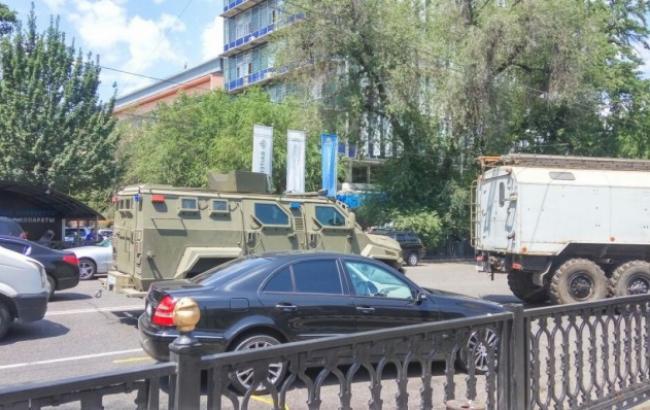 Фото: в Алматы проходит контртеррористическая операция
