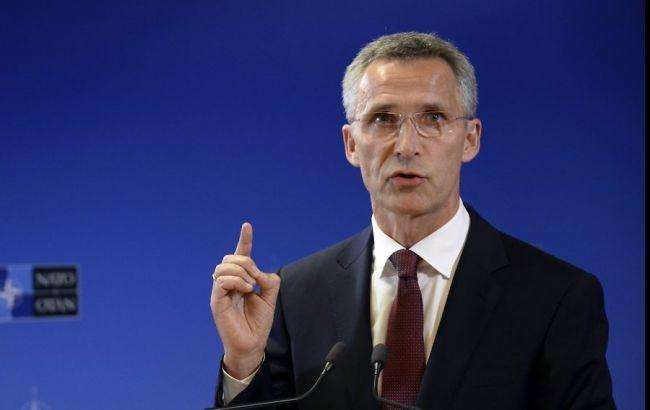 НАТО буде нарощувати політичну підтримку України, - генсек