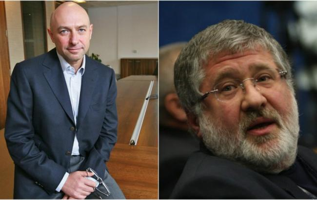 Олигархи Коломойский иБоголюбов судятся сНацбанком и«ПриватБанком»