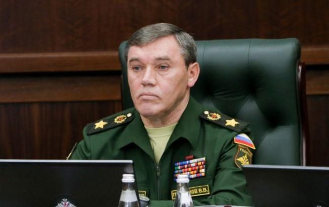 Фото: представник Генштабу РФ Валерій Герасимов