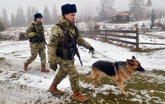 Фото: Украинский пограничный патруль (УНИАН)