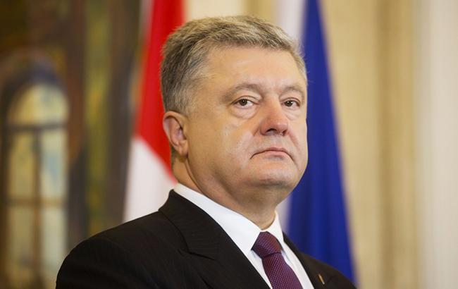 Порошенко прибыл с рабочим визитом в Литву