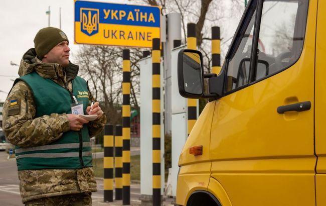 Все пункты пропуска на украинской границе с ЕС разгружены