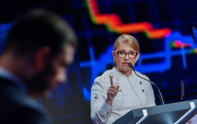Тимошенко раскритиковала результаты работы правительства Гройсмана