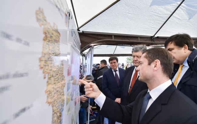 Фото: Петро Порошенко в Одесі