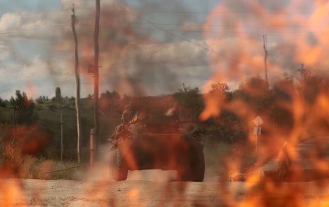 Боевики обстреляли позиции ООС в районе Лебединского, - штаб