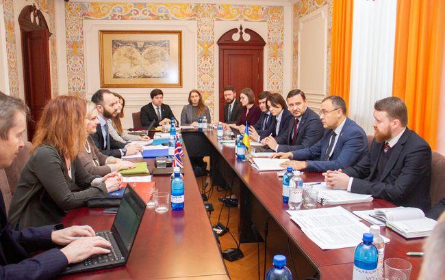 Украина и Британия начали переговоры о новом соглашении