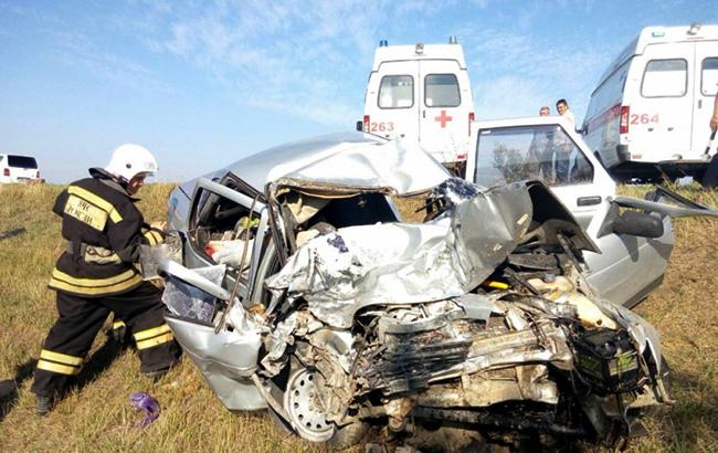 ВДТП натрассе Красноперекопск— Симферополь погибли 5  человек
