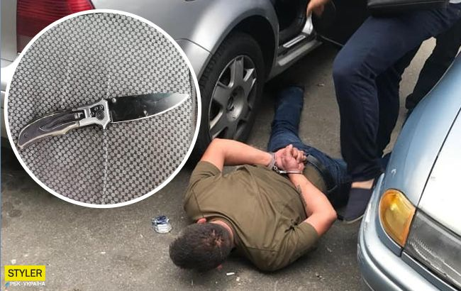 Напав з ножем і пограбував: під Києвом небезпечний злочинець жорстоко розправився з жінкою