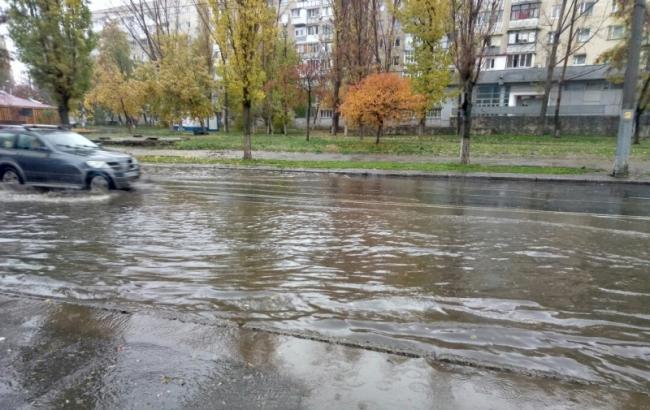 Фото: Одессу снова затопило (odpublic.net)