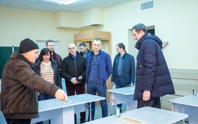 Голик: у лютому буде здана школа в Вишневому, в березні - в Українці