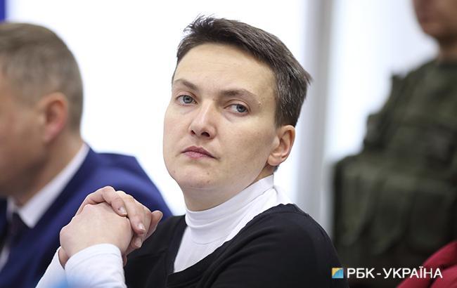 У квартирі Савченко проводять обшук