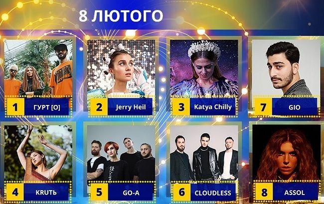 Нацотбор на Евровидение 2020: кто выиграл первый полуфинал