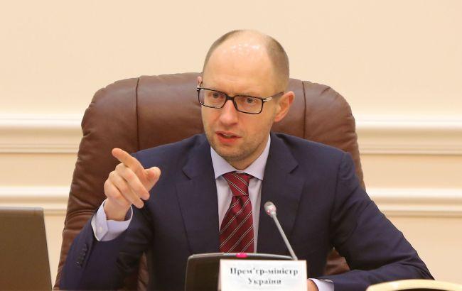 Через 45 дней оформление грузов в украинских портах будет занимать 1 час, - Яценюк