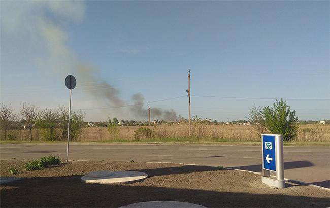 Ситуація в Балаклії: на території арсеналу відбуваються поодинокі вибухи неутилізованих боєприпасів