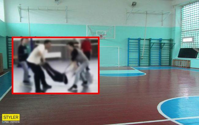 Под Киевом новый школьный скандал: учитель подбил детей на опасные игры