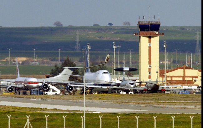 Фото: американская авиабаза Инджирлик в Турции