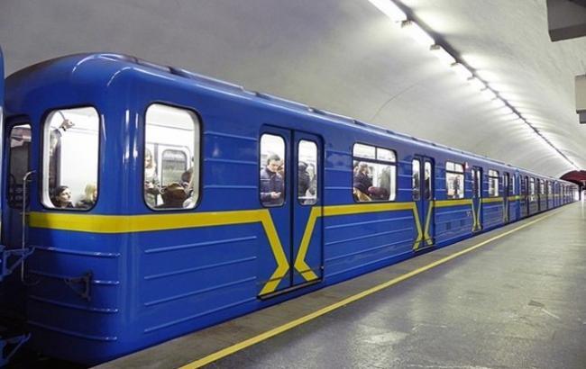 Фото: метро Киева