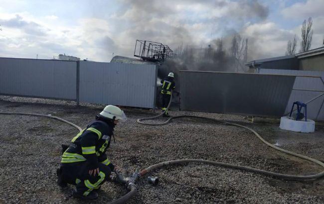 У Херсонській області стався вибух на АЗС