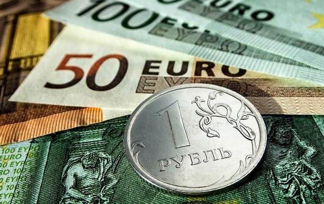 Фото: курс рубля продовжує падати