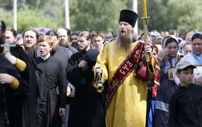Фото: колонны крестного хода завтра войдут в столицу