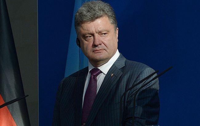 Порошенко строго прокомментировал убийство полицейских вДнепре