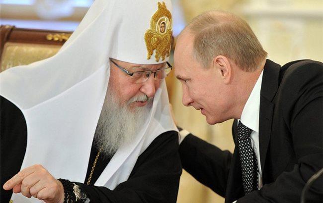 Фото: Путін і патріарх Кирило (LiveJournal)