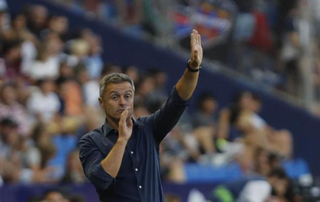 Конкурент «Астаны» погрупповому этапуЛЕ сократил основного тренера