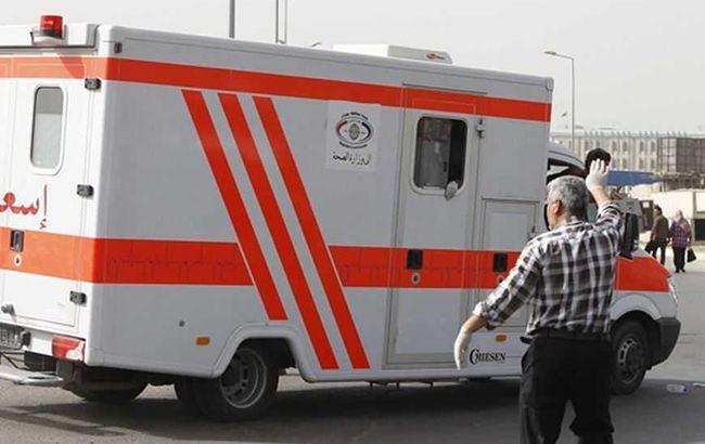 Появилось видео крушения парома в Ираке