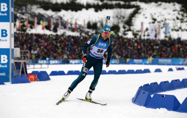 Підгрушна стала срібною призеркою на чемпіонаті Європи з біатлону