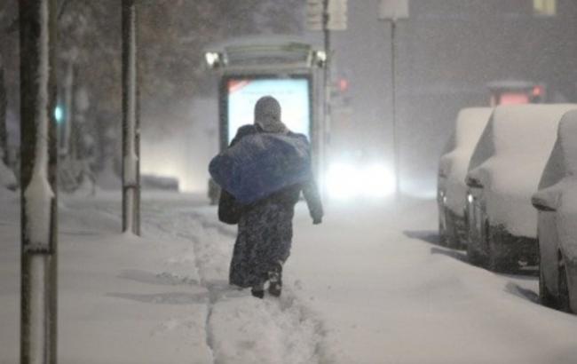 Фото: Снег в Швеции (thelocal.se)