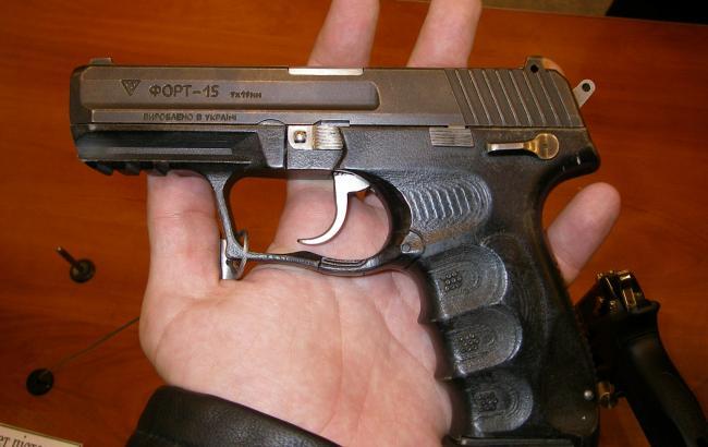 """Фото: пістолет """"Форт"""""""